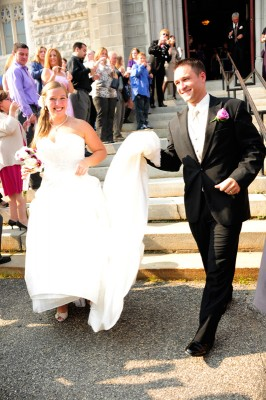 Jamie and Josh got married here at the Franco Center, and you can, too!